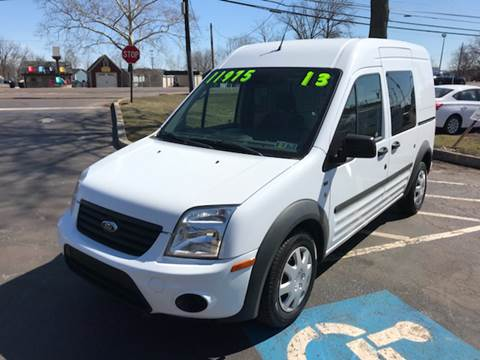 2013 Ford Transit Connect for sale at Interstate Fleet Inc. Auto Sales in Colmar PA