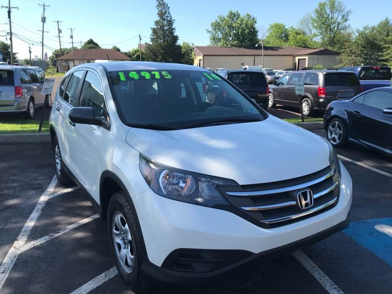 2014 Honda CR-V for sale at Interstate Fleet Inc. Auto Sales in Colmar PA