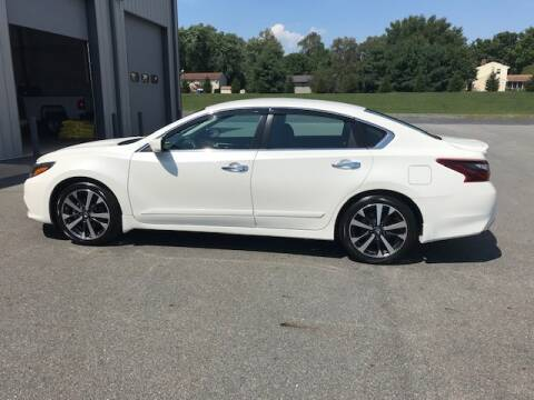 2017 Nissan Altima for sale at Interstate Fleet Inc. Auto Sales in Colmar PA