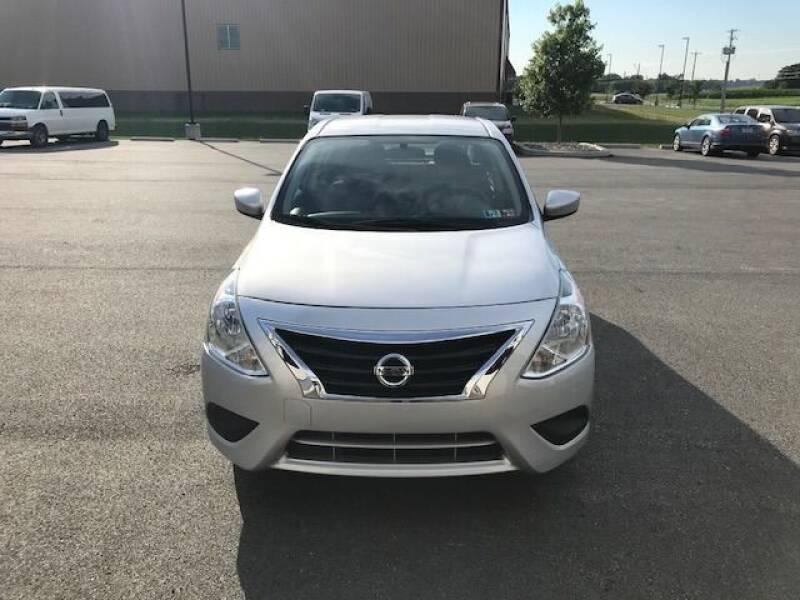 2018 Nissan Versa for sale at Interstate Fleet Inc. Auto Sales in Colmar PA