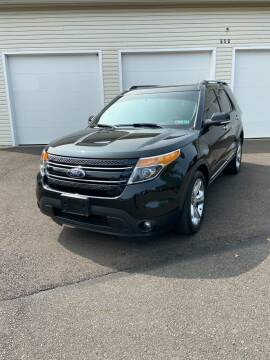 2014 Ford Explorer for sale at Interstate Fleet Inc. Auto Sales in Colmar PA