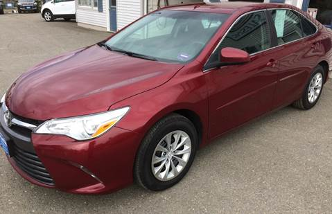 2016 Toyota Camry for sale in Houlton, ME