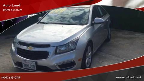 2016 Chevrolet Cruze Limited for sale in Ontario, CA