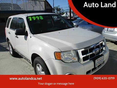 2012 Ford Escape for sale in Ontario, CA