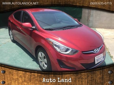 2016 Hyundai Elantra for sale in Ontario, CA
