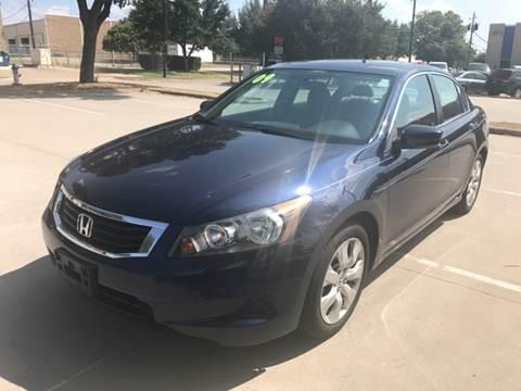 2009 Honda Accord for sale in Dallas TX
