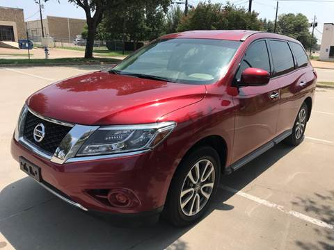 2014 Nissan Pathfinder for sale at Sima Auto Sales in Dallas TX