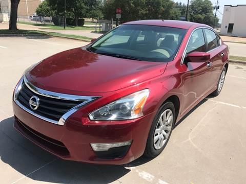 2014 Nissan Altima for sale at Vitas Car Sales in Dallas TX