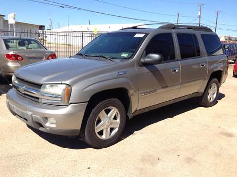 2003 Chevrolet TrailBlazer for sale at Sima Auto Sales in Dallas TX