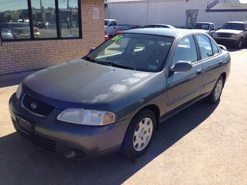 2001 Nissan Sentra for sale at Sima Auto Sales in Dallas TX