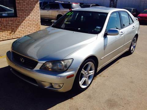2001 Lexus IS 300 for sale at Vitas Car Sales in Dallas TX