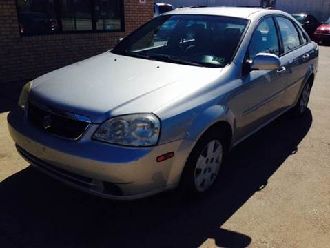 2006 Suzuki Forenza for sale at Vitas Car Sales in Dallas TX