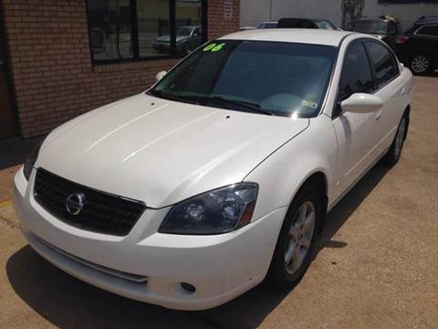 2006 Nissan Altima for sale at Sima Auto Sales in Dallas TX