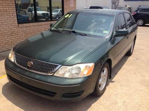 2001 Toyota Avalon for sale at Sima Auto Sales in Dallas TX