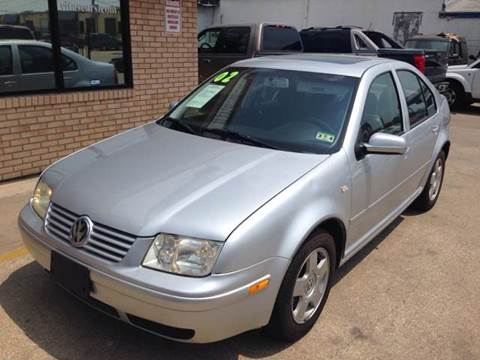 2002 Volkswagen Jetta for sale at Sima Auto Sales in Dallas TX