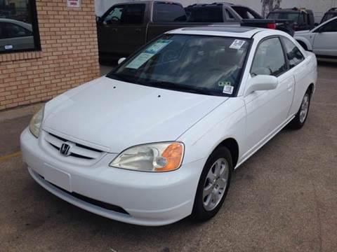 2003 Honda Civic for sale at Sima Auto Sales in Dallas TX