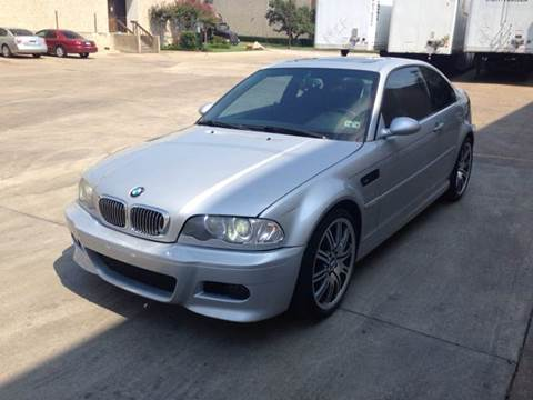 2002 BMW M3 for sale at Vitas Car Sales in Dallas TX