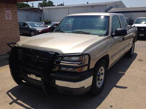 2005 Chevrolet Silverado 1500 for sale at Sima Auto Sales in Dallas TX