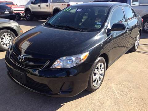 2011 Toyota Corolla for sale at Sima Auto Sales in Dallas TX