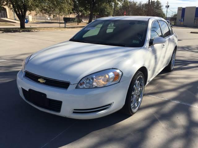 2008 Chevrolet Impala for sale at Vitas Car Sales in Dallas TX