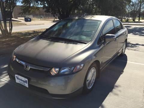 2008 Honda Civic for sale at Sima Auto Sales in Dallas TX