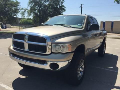 2003 Dodge Ram Pickup 2500 for sale at Vitas Car Sales in Dallas TX
