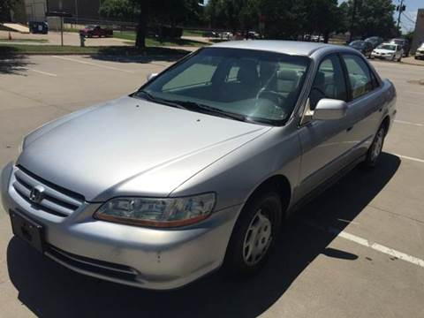 2001 Honda Accord for sale at Sima Auto Sales in Dallas TX