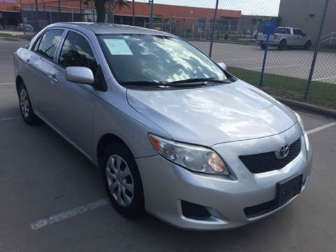 2010 Toyota Corolla for sale at Sima Auto Sales in Dallas TX