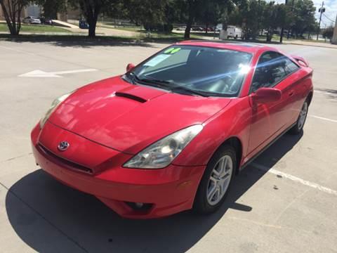 2004 Toyota Celica for sale at Sima Auto Sales in Dallas TX