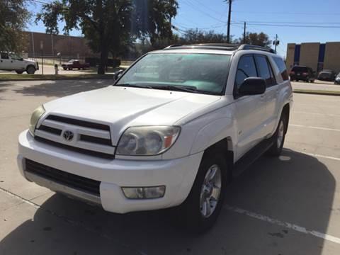 2004 Toyota 4Runner for sale at Sima Auto Sales in Dallas TX