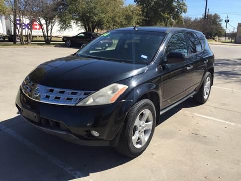 2004 Nissan Murano for sale at Sima Auto Sales in Dallas TX