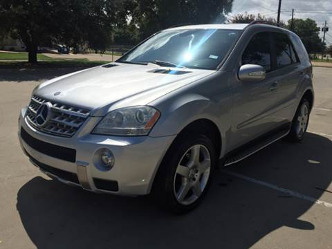 2007 Mercedes-Benz M-Class for sale at Vitas Car Sales in Dallas TX