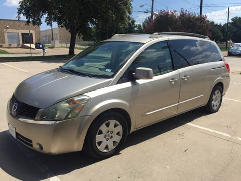 2005 Nissan Quest for sale at Sima Auto Sales in Dallas TX