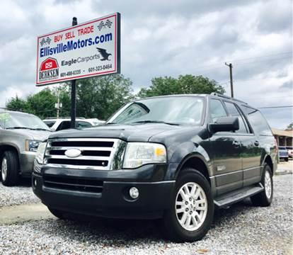 2007 Ford Expedition EL for sale in Ellisville, MS