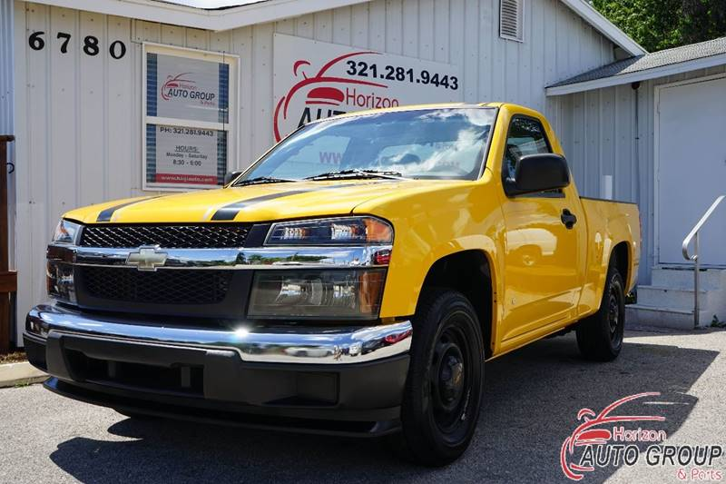 2007 chevrolet colorado work truck 2dr regular cab sb in orlando fl horizon auto group inc. Black Bedroom Furniture Sets. Home Design Ideas