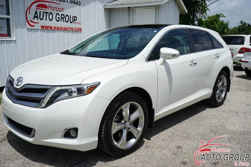 2014 toyota venza awd limited v6 4dr crossover in orlando fl horizon auto group inc. Black Bedroom Furniture Sets. Home Design Ideas