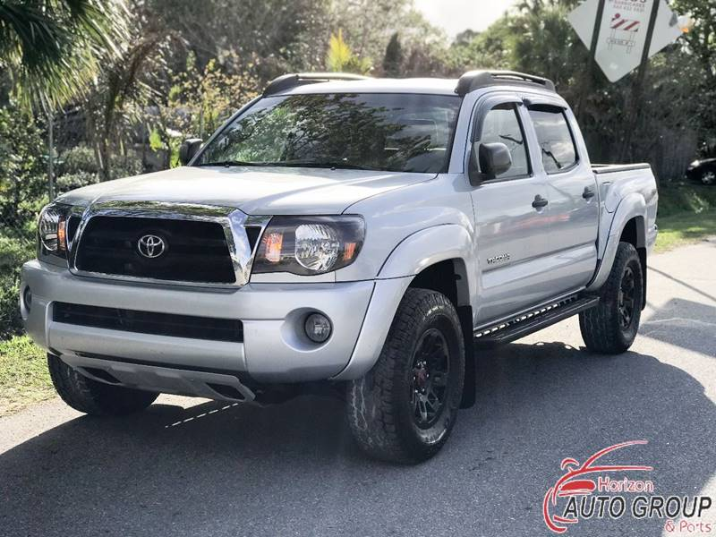 2008 toyota tacoma 4x2 prerunner v6 4dr double cab 5 0 ft sb 5a in orlando fl horizon auto. Black Bedroom Furniture Sets. Home Design Ideas