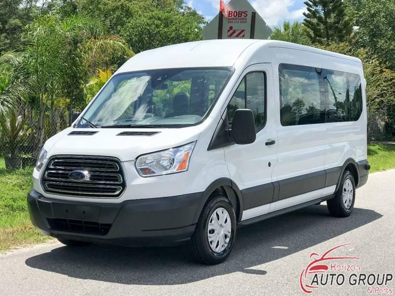 1b85f3faa8 2016 Ford Transit Passenger 350 XLT 3dr LWB Medium Roof Passenger Van  w Sliding Passenger