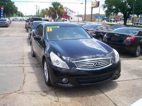 2011 Infiniti G25 Sedan for sale at Louisiana Imports in Baton Rouge LA