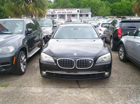 2009 BMW 7 Series for sale at Louisiana Imports in Baton Rouge LA