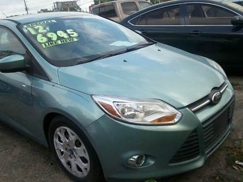2012 Ford Focus for sale at Louisiana Imports in Baton Rouge LA