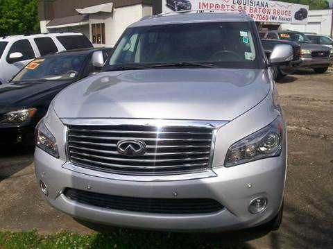 2013 Infiniti QX56 for sale at Louisiana Imports in Baton Rouge LA