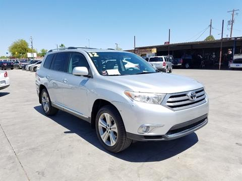 2012 Toyota Highlander for sale in Phoenix, AZ