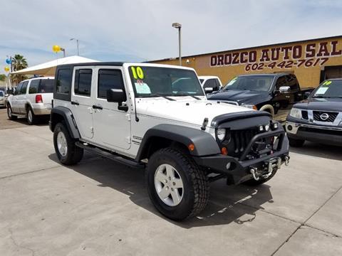 2010 Jeep Wrangler Unlimited for sale in Phoenix, AZ