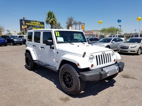 2011 Jeep Wrangler Unlimited for sale in Phoenix, AZ