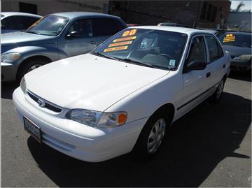 2000 Toyota Corolla for sale in Stockton, CA