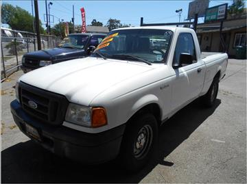 2004 Ford Ranger for sale in Stockton CA