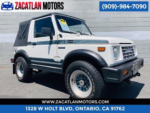 1988 Suzuki Samurai for sale in Ontario, CA