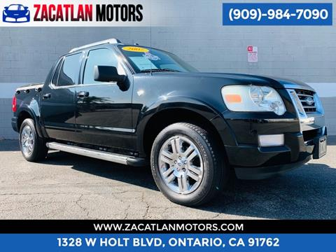 2007 Ford Explorer Sport Trac for sale in Ontario, CA