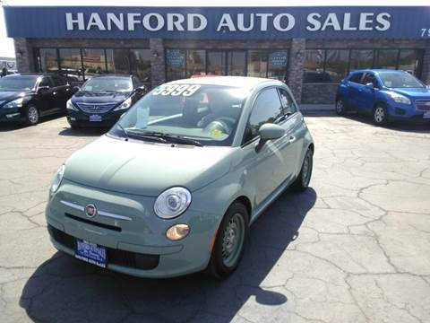Hanford Auto Sales >> 2012 Fiat 500c For Sale In Hanford Ca